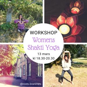 yoga workshop 13 mars womens shakti