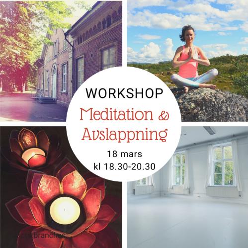 Meditation och avslappning 18 mars 2020